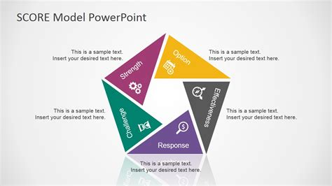 model powerpoint presentation templates score model powerpoint template slidemodel