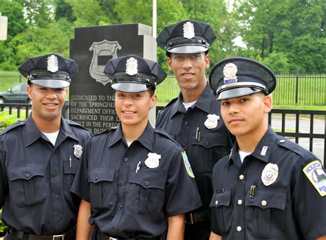The Officer S by Four Rookie Officers Are Combat Veterans Who Served