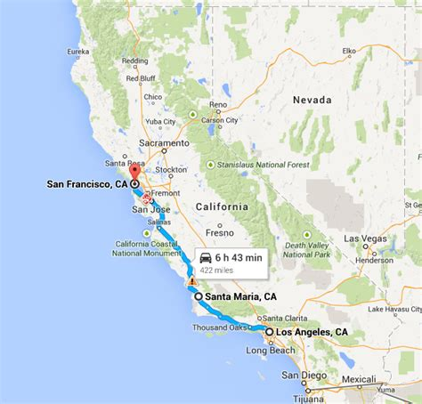 california map hwy 101 opinions on u s route 101 in california