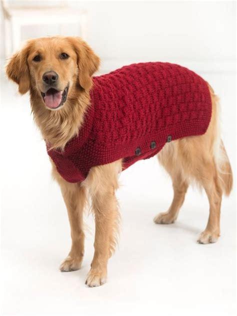 Free Knitting Pattern For Large Dog Sweater