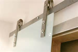 Sliding Barn Door Hinges Barn Door Hardware With Glass Sliding Door Contemporary Salt Lake City By Rustica Hardware