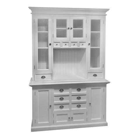 Kitchen Cabinet With Hutch | novasolo halifax kitchen china cabinet reviews wayfair