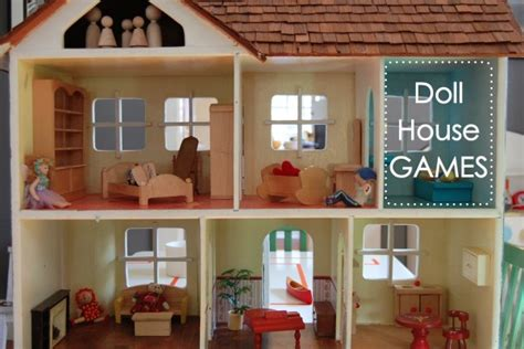 make a doll house game doll house games tinkerlab