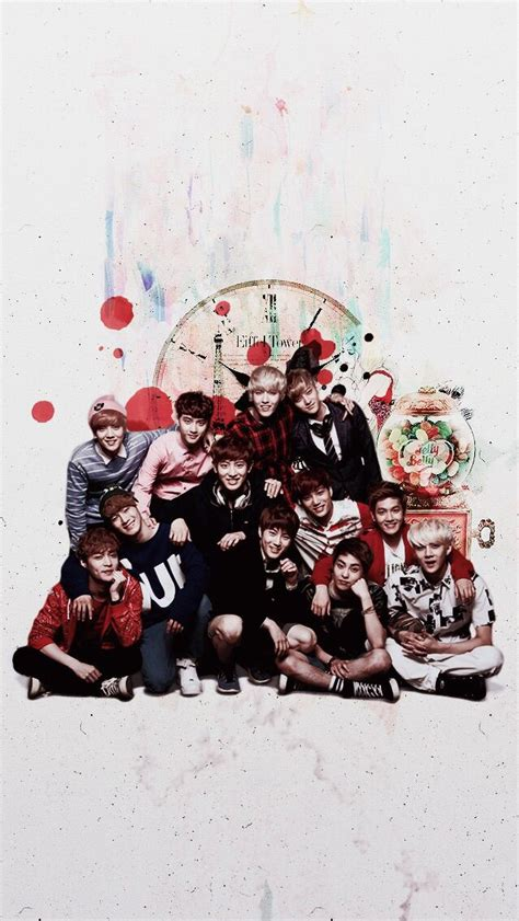 exo christmas wallpaper 70 best images about exo background on pinterest