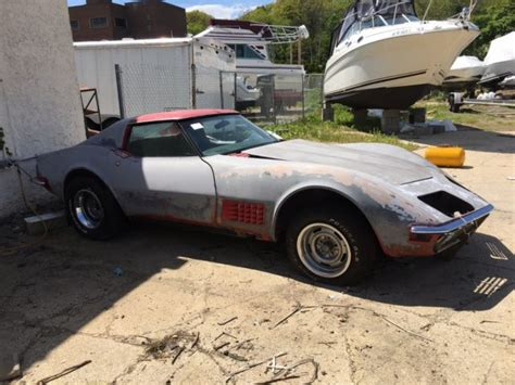 corvette stingray for sale cheap 1972 corvette stingray matching numbers project cheap look