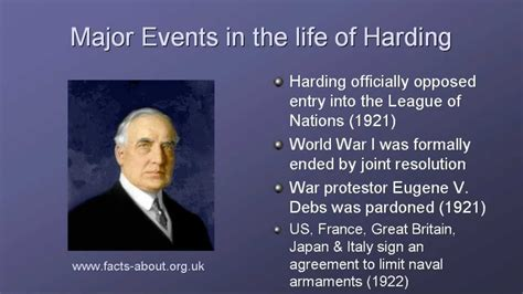 Presidents Of The United States by President Warren Harding Biography Youtube