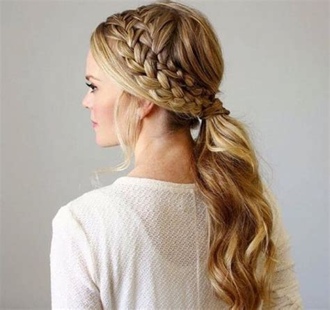 french braid low side 115 best images about spring 2016 hairstyles on pinterest