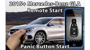 Remote Start For Mercedes 2015 Mercedes Gla Remote Starter To Factory Fob