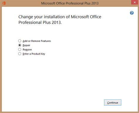 Reinstall Office 2013 by Top 5 Fixes For Excel 2013 Has Stopped Working Also