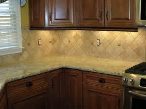 backsplash tiles with giallo ornamental diagonal or