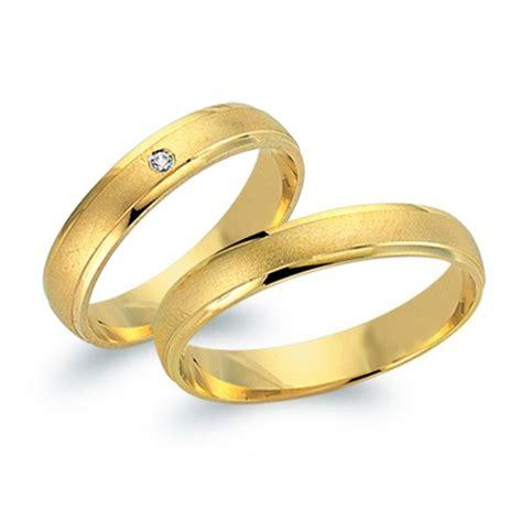 Gold Ehering by Eheringe 585er Gelbgold Mit Brillant Wr0524 5s