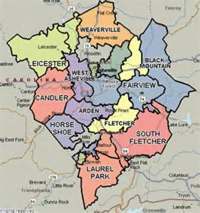 map of asheville carolina and surrounding areas professional service areas in carolina