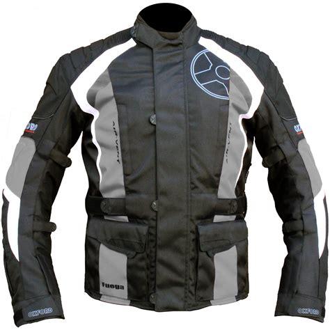 motorcycle touring jacket oxford fuega waterproof motorcycle motorbike reflective