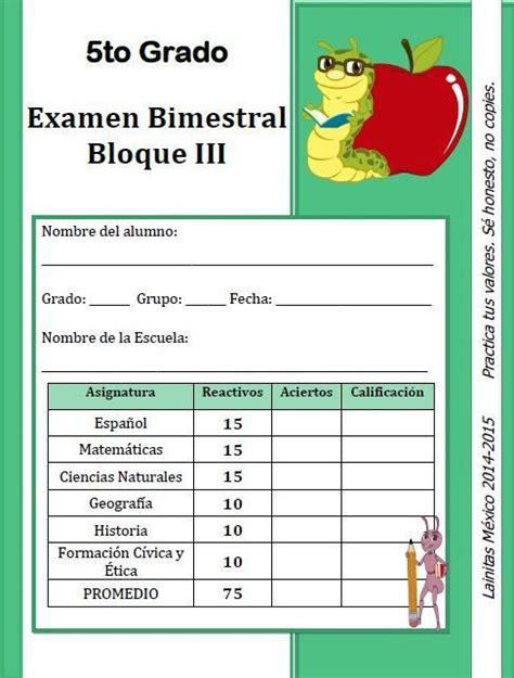 examen de ciencias naturales quinto grado bloque 2 ejercicios complemenarios lainitas 1 176 2 176 3 176 4 176 y 5