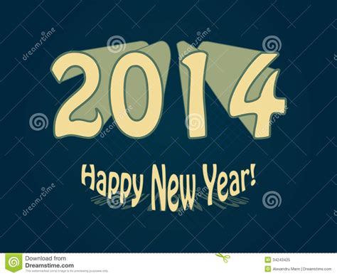 new year is based on happy new year 2014 royalty free stock photo image 34243425