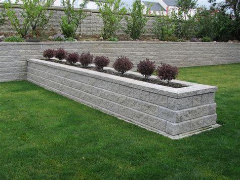 Garden Block Wall Ideas Picture Of Allan Block Retaining Wall Farmhouse Design And Furniture Allan Block Retaining