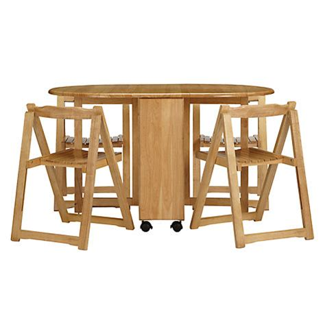 Butterfly Folding Table And Chairs Lewis Butterfly Folding Dining Table And Four Chairs New Rrp 163 199 Ebay