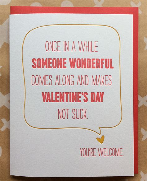 sarcastic valentines day quotes s day card sarcastic s by