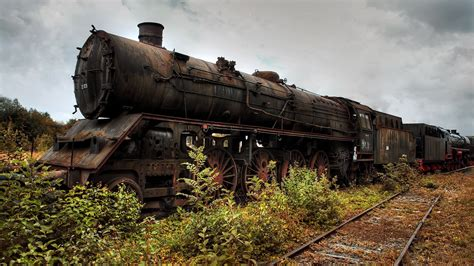 abandoned train widescreen wallpaper wide wallpapersnet