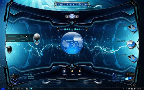 free rainmeter themes download for windows 7 top 5 inspiring windows 7 themes for hackers