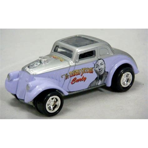 johnny lightning team lightning three stooges curly s 33 willys coupe global diecast direct