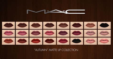 sims 4 mac wann cc finds mac cosimetics autumn matte lip