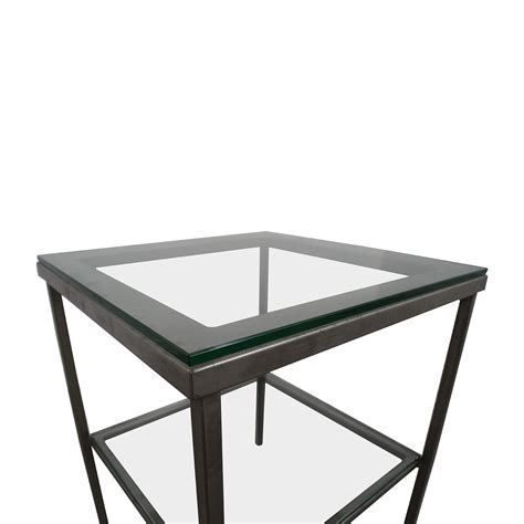 Crate And Barrel Side Table 85 Crate Barrel Crate Barrel Glass Chrome Side Table Tables