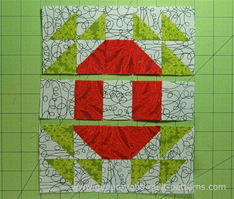 crown and thorns quilt block 4 sizes included