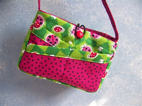 sewing pattern purse child s ladybug purse easy sewing pdf pattern and tutorial