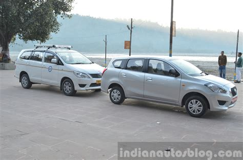 Spare Part Datsun Go Plus datsun go with innova review indian autos