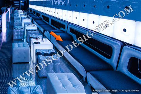Accent Color disco sofa nightclub furniture by disco designer ultra