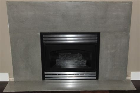 Remodel Bathroom Designs Modern Concrete Fireplace Surrounds Contemporary