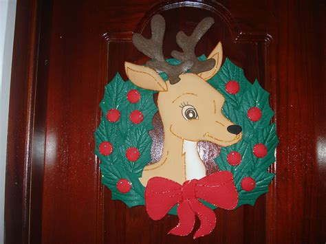 imagenes de navidad hechas en foami coronas de navidad en foami imagui
