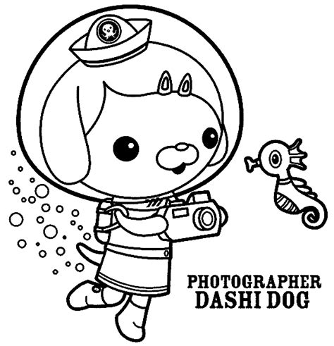 Gup X Coloring Page by Octonauts Dashi Coloring Pages Www Pixshark Images