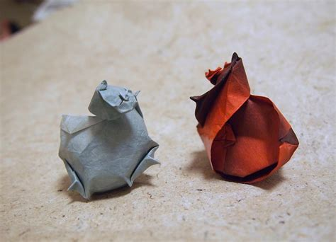 Origami Shell - can t make it to the try folding these origami