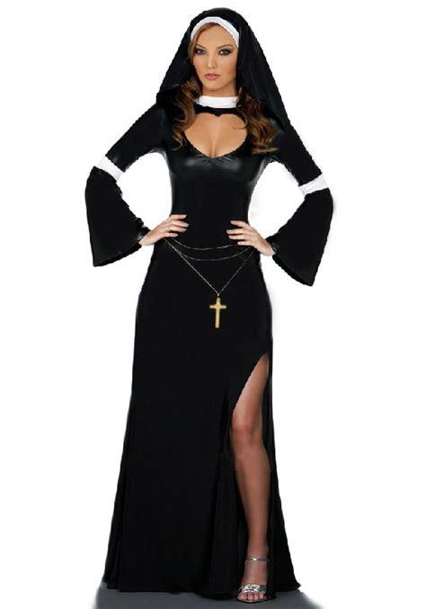 Nzns Black Dress fancy dress black white costume