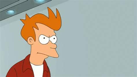 Fry From Futurama Meme - irti funny gif 2970 tags shut up and take my money