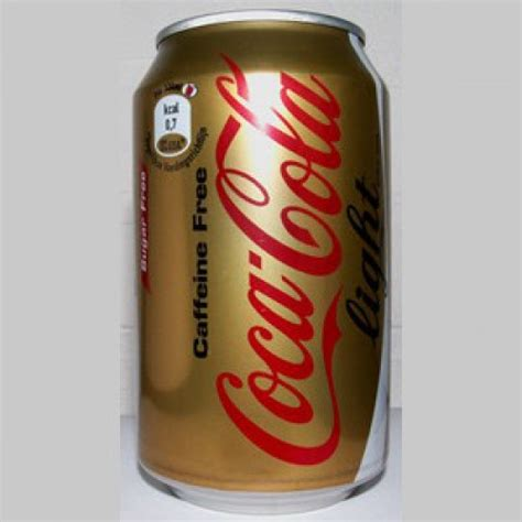Light Caffeine by Coke Light Caffeine Free 33cl
