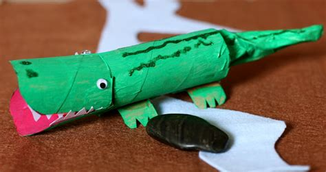 How To Make Crocodile With Paper - in the friday five activities for the