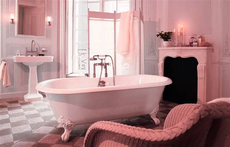 Pink Bathroom Ideas 40 Vintage Pink Bathroom Tile Ideas And Pictures