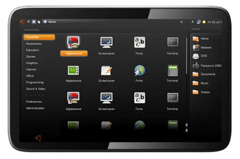 linux on android tablet an ubuntu netbook os tablet pc edition 2011 the tenq p07 specs features
