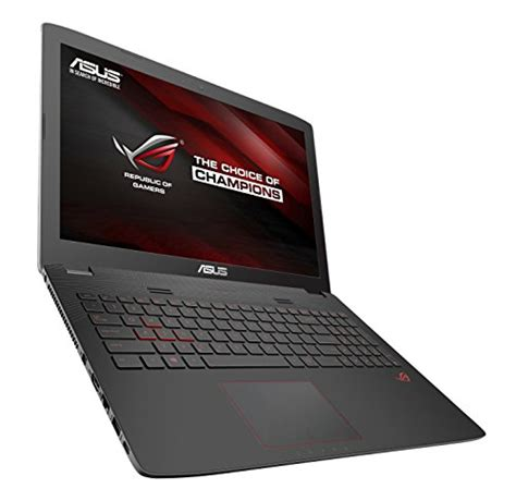 Asus Gaming Laptop With Windows 10 asus rog gl752vw dh74 17 inch gaming laptop discrete gpu geforce gtx 960m 4 gb vram 16gb ddr4