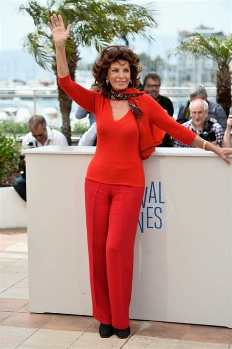 sophia loren cannes 2014 sophia loren at cannes 2014 lainey gossip entertainment update