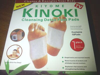 Detox Foot Pads Store Available by Jiza Store Kinoki Cleansing Detox Foot Pads
