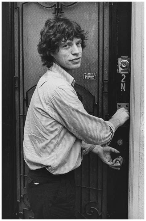 Hutch Studio Mick Jagger 1981 Photo Ron Galella 169 Jazzinphoto