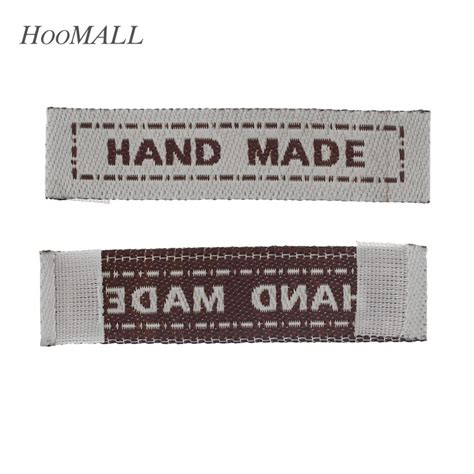 Handmade Clothing Tags - hoomall brand 100pcs handmade clothing care labels woven