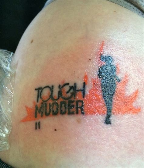 tough mudder tattoo 178 best images about land on tattoos