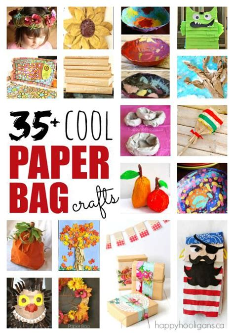 Creative Things With Paper - cool crafts to make out of paper bags things to