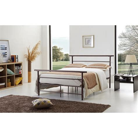 Bronze Bed Frame Bronze Bed Frame Hi829 Q Brnz The Home Depot