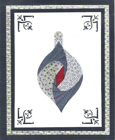 iris card patterns cotton creations iris folding ornament